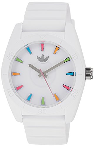 adidas Unisex ADH2915 Analog Display Analog Quartz White Watch