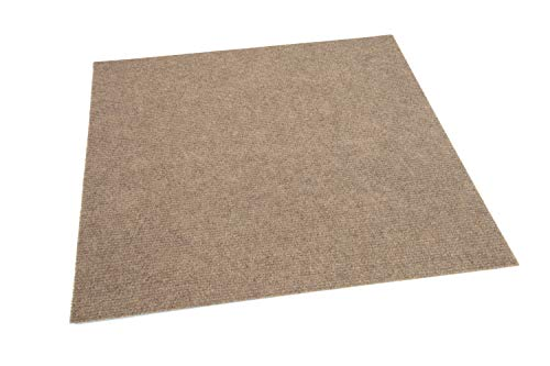 - IncStores Hobnail and Ribbed Carpet Tiles Residential Flooring Self Adhering 18