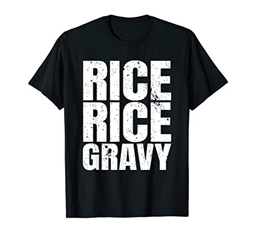 Spicy Rice Rice Gravy TShirt Rice Lover Thanksgiving Day Tee