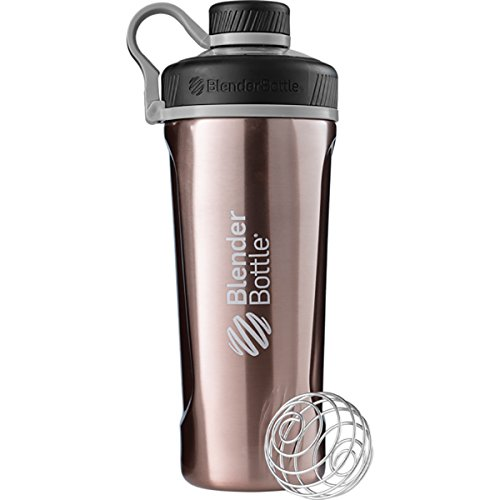Price comparison product image Blender Bottle Radian 26 oz. Stainless Steel Shaker Bottle with Loop Top (Copper)