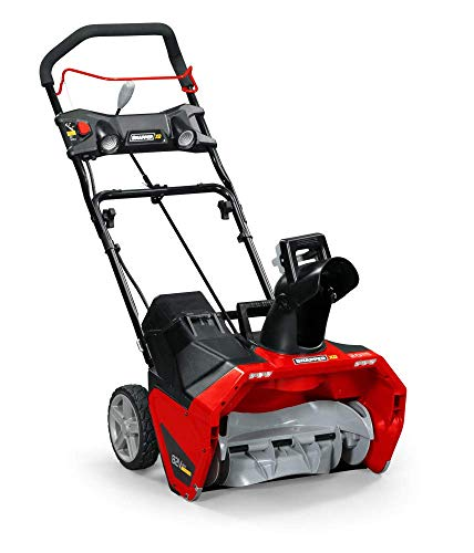 Snapper XD 82V MAX 1688054 20-Inch Electric Single-Stage Snow Blower Kit (Battery & Charger Included)