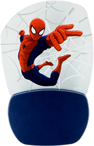Marvel Ultimate Spider-Man 3D Motion Effect Night Light, Soft White Glow, Light Sensing, Long Life and Low Energy LED, 30271 by Jasco