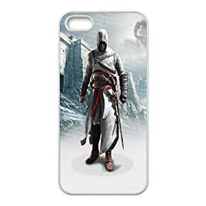 Assassins Creed Black Flag iPhone 4 4s Cell Phone Case White dagk