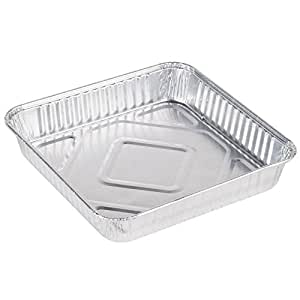 """Pack of 30 Extra-Thick Disposable Aluminum Baking Pans 