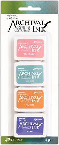 (Ranger Kit #3 Wendy Vecchi Mini Archival Ink Pads)