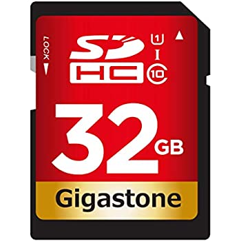 Amazon.com: gigastone Class 10 UHS-1 tarjeta de memoria SDHC ...