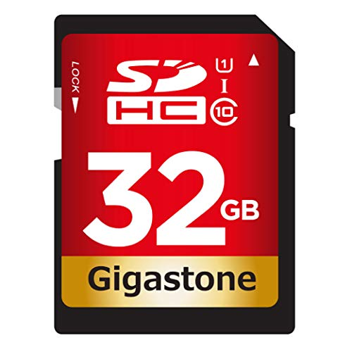 (Gigastone 32GB SD Card UHS-I U1 Class 10 SDHC Memory Card High Speed Full HD Video Canon Nikon Sony Pentax Kodak Olympus Panasonic Digital Camera)