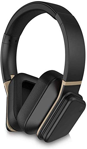 LYNXSONIC 4:33 Active Noise Cancelling Headphones with Touch Control Bluetooth Over Ear Headphones, Built-in Microphone, 40H Playtime, Wireless Charging, aptX Low Latency HD Professional HiFi Headset