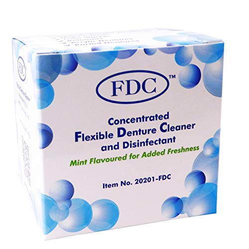 Flexible Denture Cleaner FDC ~ 3 Months Supply ~ Valplast & other Dental...