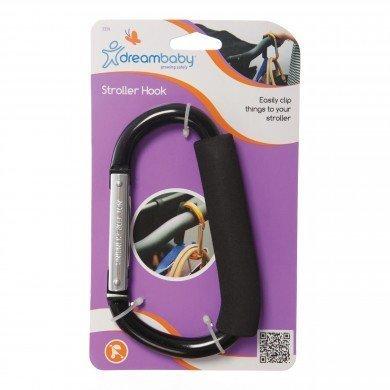 Dreambaby Stroller Carabiner Hook (2 Pack) by Dreambaby