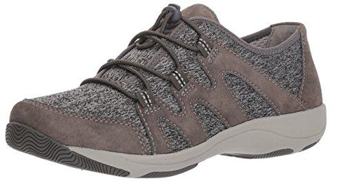 Dansko Women Holland Sneaker Charcoal Suede