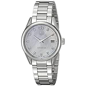 Tag Heuer Carrera Mother of Pearl Dial Stainless Steel Ladies Watch