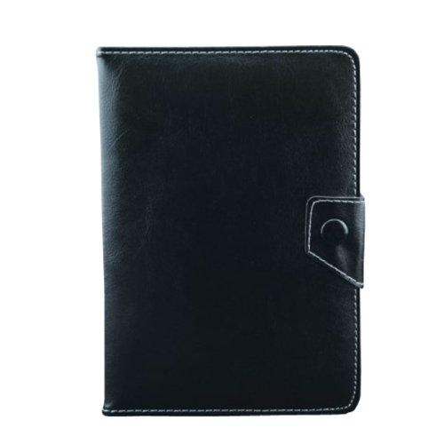 """Premium PU Leather Case Stand Cover For 10.1"""" Samsung GT-P7500 GT-P7510 Tablet (Black)"""