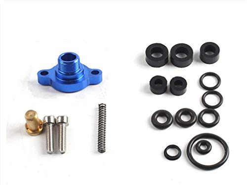 CongratsYiCross2019 Fuel Pressure Regulator Valve Cap Spring Upgrade Kit Fits Ford 7.3L Powerstroke Diesel 1999 2000 2001 2002 2003 -Blue