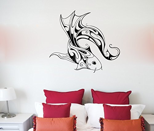 Koi Fish Carp Vinyl Wall Decal Sticker Graphic