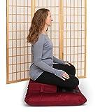Samadhi Cushions Gomden Meditation Cushion Set of 2