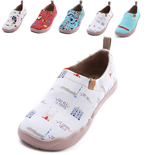 new product 28cfc 6c5a9 Fishes Shoes Uin Funny Womens Art Canvas Walking City qawxvf
