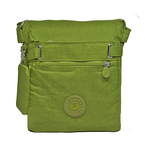 YourDezire - Bolso bandolera Mujer verde oliva