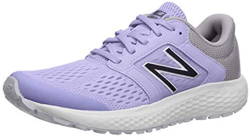 New Balance Women's 520v5 Cushioning Running Shoe, Clear Amethyst/Iodine Violet, 5.5 W US