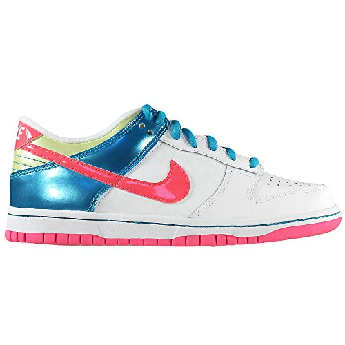 Nike - Dunk Low Gs - Color: Azul-Blanco-Rosa - Size: 38.5EU