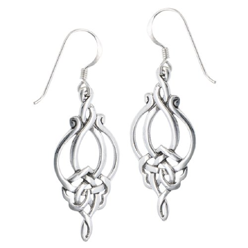 Unique Celtic Knot French Wire Earrings ()