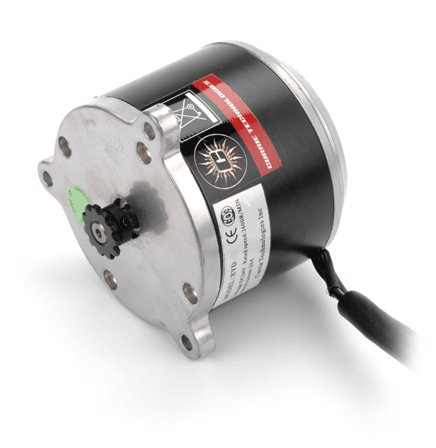 Price comparison product image Monster Motion 24 Volt 900 Watt XYD-13 Electric Motor with 11 Tooth #25 Chain Sprocket