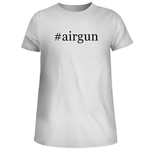 - BH Cool Designs #Airgun - Cute Women's Junior Graphic Tee, White, Large