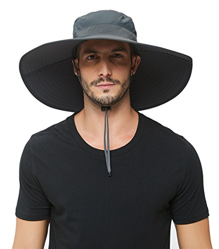 Super Wide Brim Sun Hat-UPF 50+ Protection,Waterproof