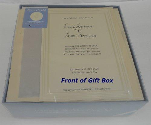 Great Papers! Triple Pearl Embossed Ivory Wedding Kit