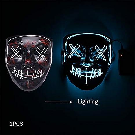 WSJDE Máscara de Halloween Máscaras de Disfraces Fiesta de ...