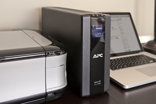 APC Back-UPS Pro 1500VA UPS Battery Backup & Surge Protector (BR1500G) by APC (Image #4)