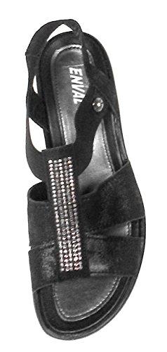 Nero Italy 12747 Sandalo Enval Soft Pelle Made In Donna Scarpa x7ZEqw