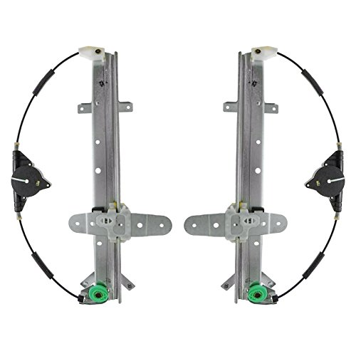 Power Window Regulator Rear Pair Set for Crown Victoria Grand Marquis Marauder (Regulator Marauder)