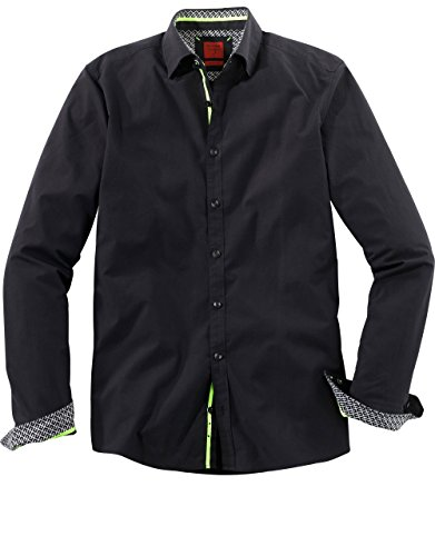 OLYMP LEVEL FIVE CASUAL BODY FIT KENT Under-Button-Down 3004/74/68 schwarz