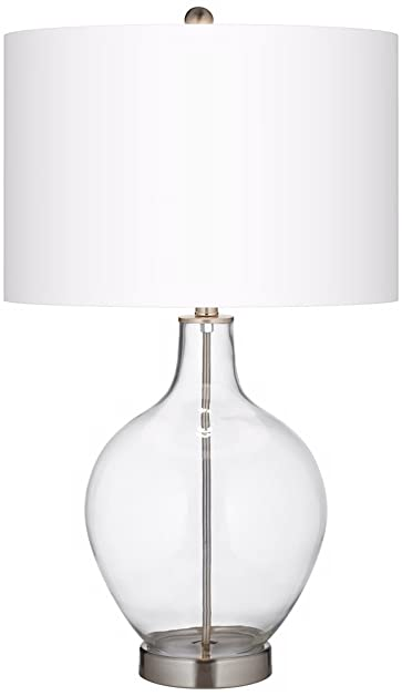 Fillable Clear Glass Ovo Table Lamp - - Amazon.com