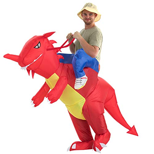 Inflatable Dinosaur Costume Only $21.24 **Lightning Deal**
