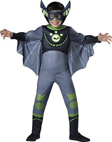 InCharacter Costumes Bat - Green Costume, One Color, 4 - Colour Theme Party Costumes