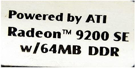 64 MB His ATI Radeon 9200SE 4l78d132 VGA + DVI + SV AGP ...