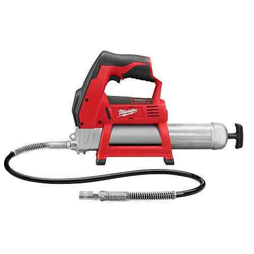 Bare-Tool Milwaukee 2446-20 M12 12-Volt Cordless Grease Gun (Tool Only, No Battery) ()