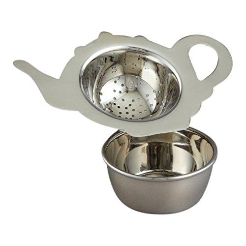 Elegance Stainless Steel Tea Strainer by Elegance