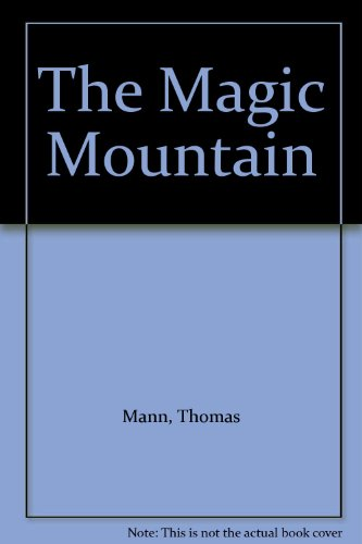 The Magic Mountain Thomas Mann Pdf