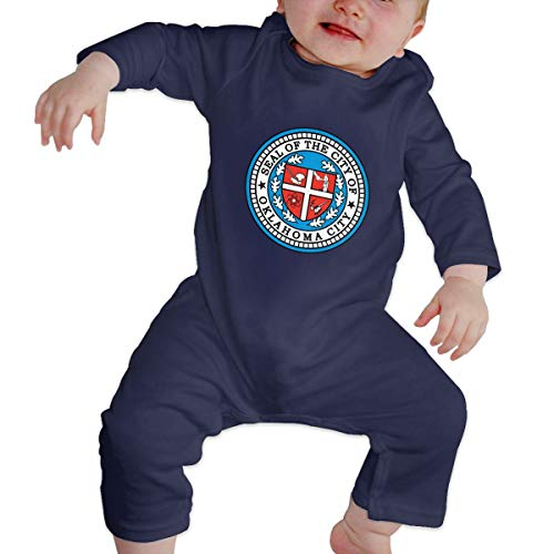 Coat of Arms Equatorial Guinea Flag Unisex Long Sleeve Baby Gown Baby Bodysuit Unionsuit Footed Pajamas Romper Jumpsuit Navy ()