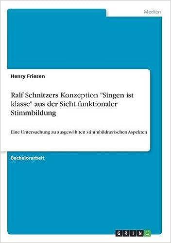 Ralf Schnitzers Konzeption