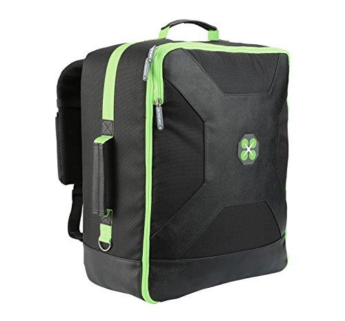 Sac à dos Drone Max Ultimate Backpack – Sac à dos pour drone DJI Phantom, sac pour quadricoptère (noir / vert)