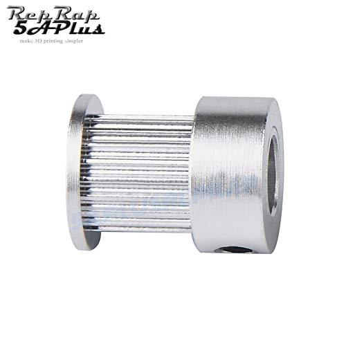 5 mm Bohrung Laliva 3D-Drucker GT2-10 mm offener Zahnriemen 10 mm Breite GT2 Fiberglas-G/ürtel Gummi 2 Meter mit 2 Riemenscheibe 20 Z/ähne 3D-Druckerteile