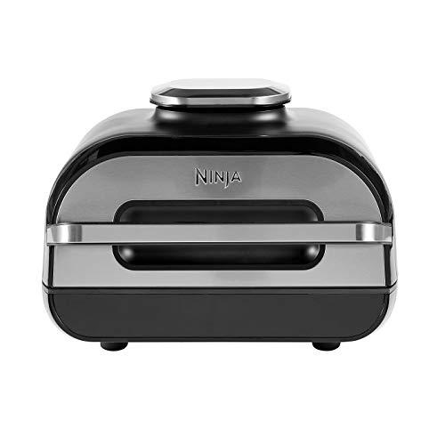 Ninja Foodi MAX [AG551EU] Parrilla y Freidora de Aire con Sonda Digital, 3.8 l, 6 Funciones de Cocción, 2460 W, 3.8…