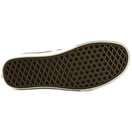 Furgoni Autentici Ca Paisley Olive Mens Classic Scarpe Da Skate Dimensione 10.5