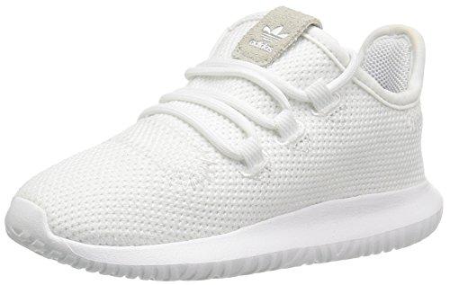 adidas Originals Boys' Tubular Shadow I Running Shoe, core Black/White, 10 M US Toddler