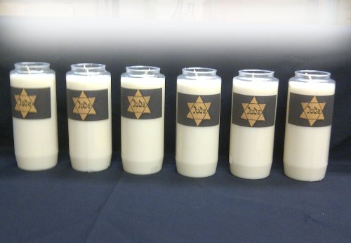 Yom Hashoah Holocaust Memorial Candles Memorial Candle Set