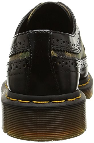 Camo Multicolore 3989 Stringate Basse Dr Brogue Unisex green Scarpe black adulto Martens 5gqw8nxPna